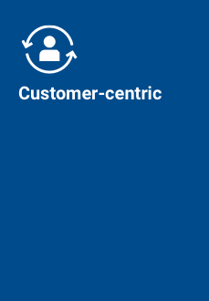 Customer-centric icon