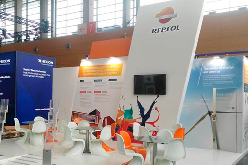 Repsol stand at the ECS2019