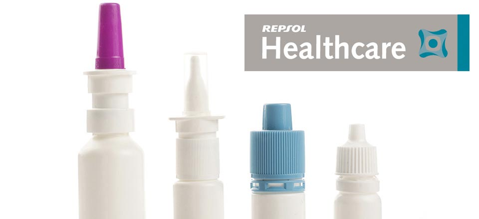 Different products from the Repsol química healthcare range