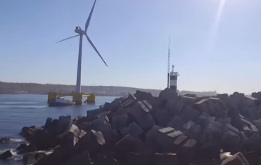 Shot of wind turbines