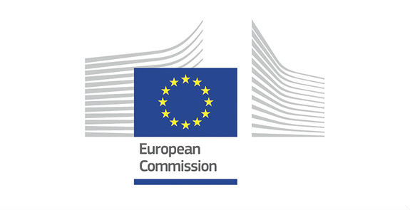 European Commission logo.