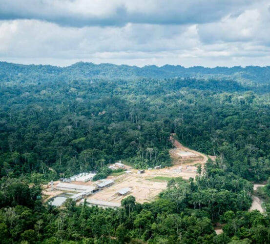 View of the Sagari landscape. Sustainability. Success Stories.
