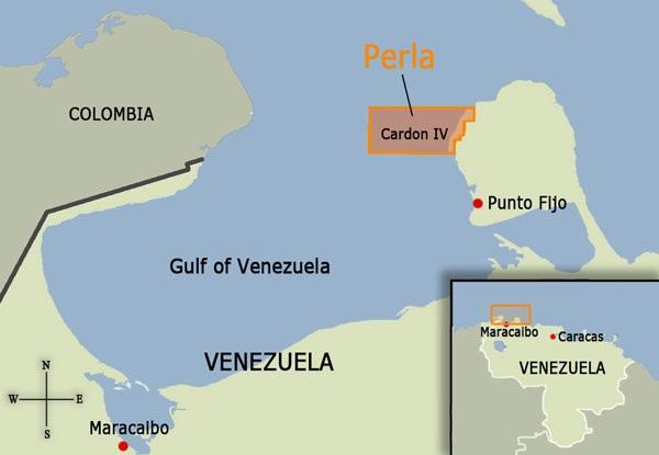 Repsol starts up the giant Perla gas field in Venezuela