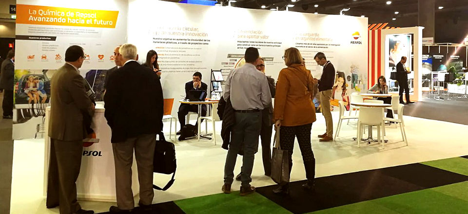 Repsol stand at ChemPlast