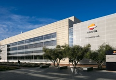 Façade of the Repsol Technology Lab