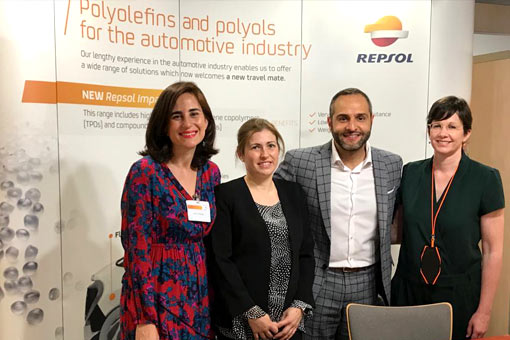 Repsol's stand at SFIP.