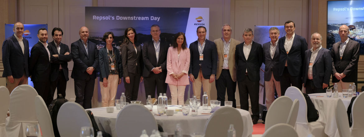 Foto familiar de los participantes del Downstream Day