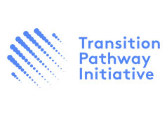 Logotipo Transition pathway initiative